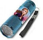 EUROSWAN Dětská hliníková LED baterka Ledové Království Anna Hliník, Plast, 9x2,5 cm Hračky a doplňky - baterky a lampičky