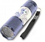 EUROSWAN Dětská hliníková LED baterka Ledové Království Elsa Ice Hliník, Plast, 9x2,5 cm Hračky a doplňky - baterky a lampičky