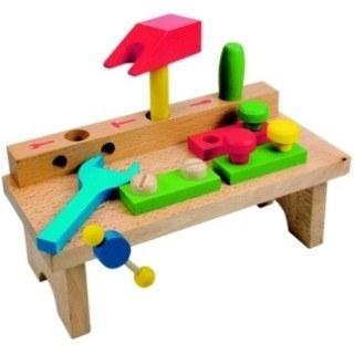 Pracovní ponk jednoduchý | Hračky Dřevěné hračky