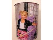 Odpadkový plechový koš Hannah Montana Akce