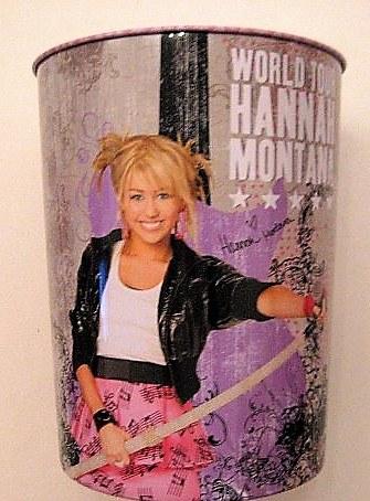 Odpadkový plechový koš Hannah Montana - Akce