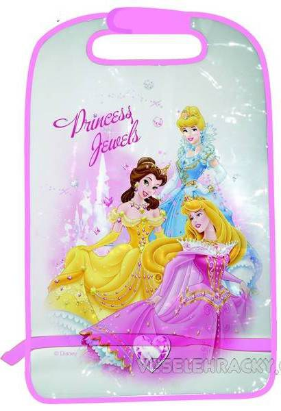 Disney Princess - Ochrana předních sedadel - Kapsáře do auta