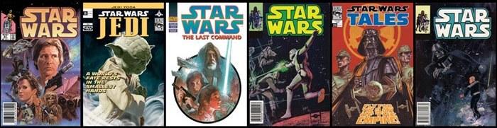Samolepicí bordura Star Wars D90064, rozměry 15,6 x 500 cm - Dekorace Star Wars