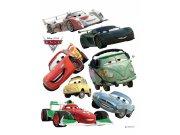 Maxi nálepka Cars a ralye AG Design DK-0886, rozměry 85 x 65 cm Dekorace Cars