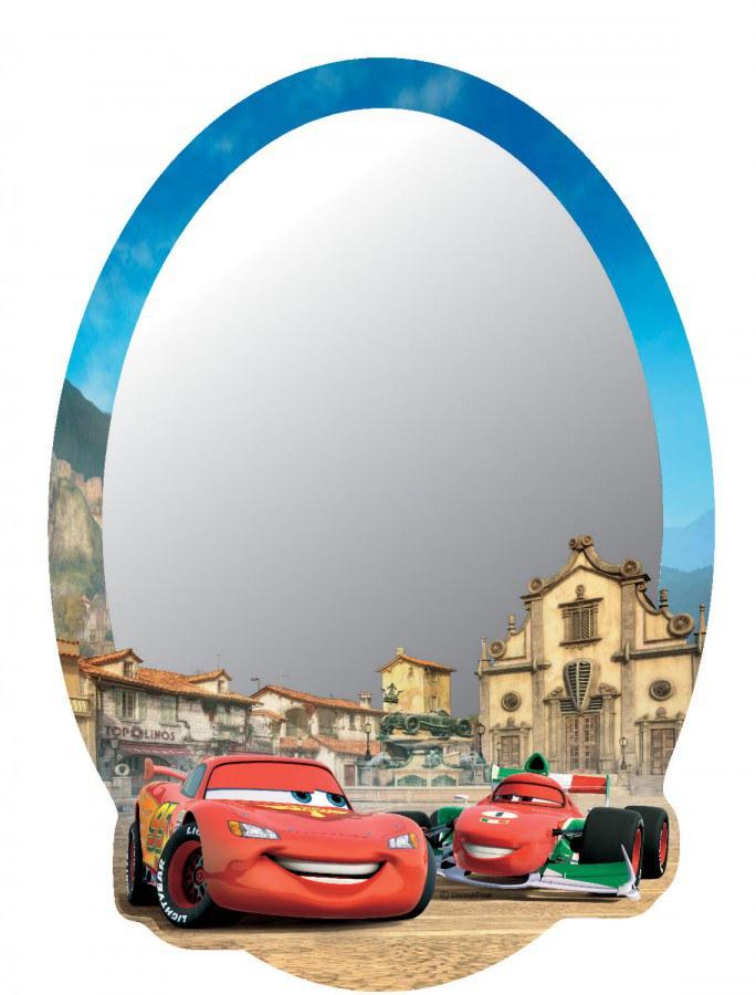Zrcátko Cars DM2106 - rozměry 15 x 21,5 cm - Dekorace Cars