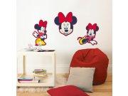 Dekorace Minnie D70030, 3 ks Dětské dekorace na zeď