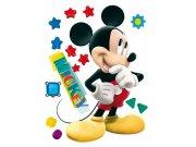 Maxi nálepka Mickey Mouse AG Design DK-0858, rozměry 85 x 65 cm Dekorace Mickey Mouse
