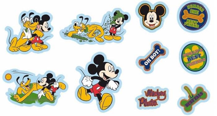 Samolepicí dekorace Mickey Mouse 24101 - Dekorace Mickey Mouse