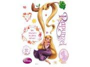 Maxi nálepka Rapunzel a magic AG Design DK-0853, rozměry 85 x 65 cm Dekorace Na Vlásku