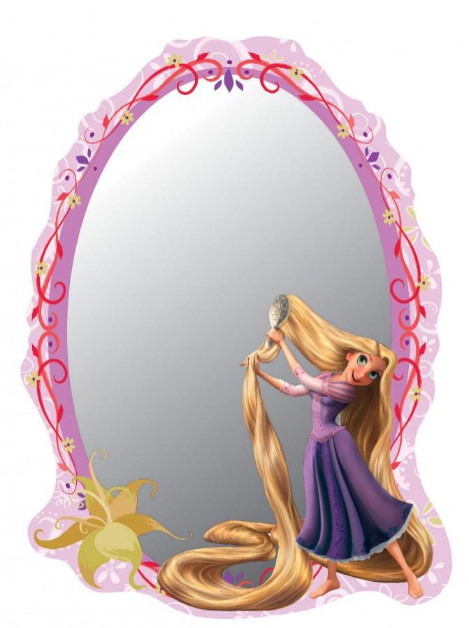 Zrcátko Rapunzel DM2107 - rozměry 15 x 21,5 cm - Dekorace Na Vlásku