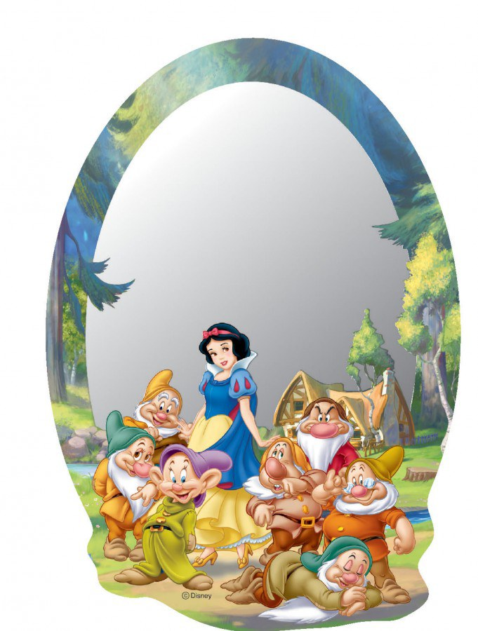 Zrcátko Princezna DM2102 - rozměry 15 x 21,5 cm - Dekorace Princezny