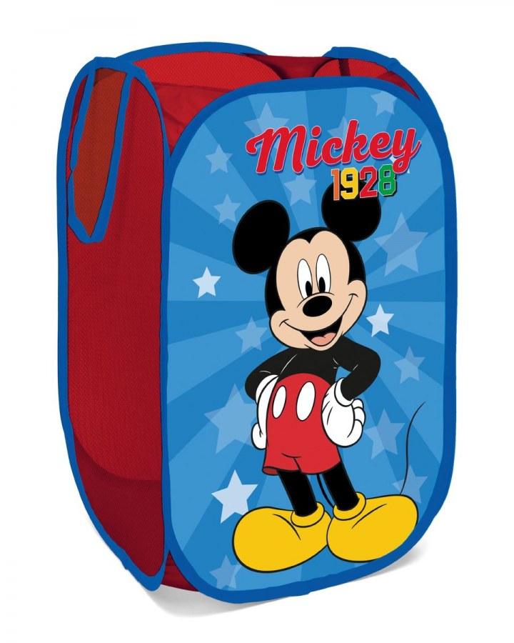 Dětský skládací koš na hračky Mickey Mouse - Akce
