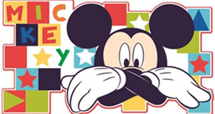 Velká pěnová figurka Mickey Mouse D23501, rozměry 30 x 60 cm - Dekorace Mickey Mouse