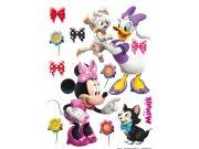 Maxi nálepka Minnie a zvířátka AG Design DK-1768, rozměry 85 x 65 cm Dekorace Mickey Mouse