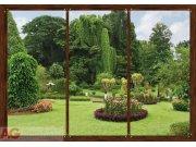 Fototapeta Window in garden FTS-1314, rozměry 360 x 254 cm Fototapety skladem