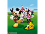 Vliesová fototapeta Mickey Mouse a přátelé FTDNXL-5131, rozměry 180 x 202 cm Fototapety pro děti - Fototapety dětské vliesové