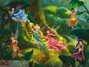 Fototapeta Fairies Víly FTDXXL-2226, rozměry 360 x 255 cm Fototapety pro děti - Rozměr 360 x 255 cm