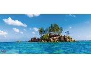 Fototapeta Ostrov v moři FTNH-2727, rozměry 202 x 90 cm Fototapety skladem