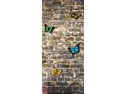 Fototapeta Butterfly on the Wall FTNV-V2905, rozměry 90 x 202 cm Fototapety vliesové