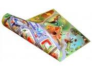 Dětský koberec venkovní oboustranný Farma-Město, rozměry 75 x 100 cm Dětské koberce