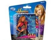 Set - kuličkové pero a zápisník Hannah Montana Psací potřeby