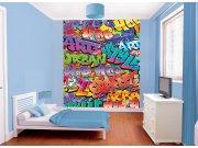 3D fototapeta Graffiti Walltastic 42827, 203 x 243 cm Fototapety skladem