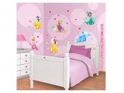 Samolepicí dekorace Walltastic Disney Princezny 41455 Dekorace Princezny