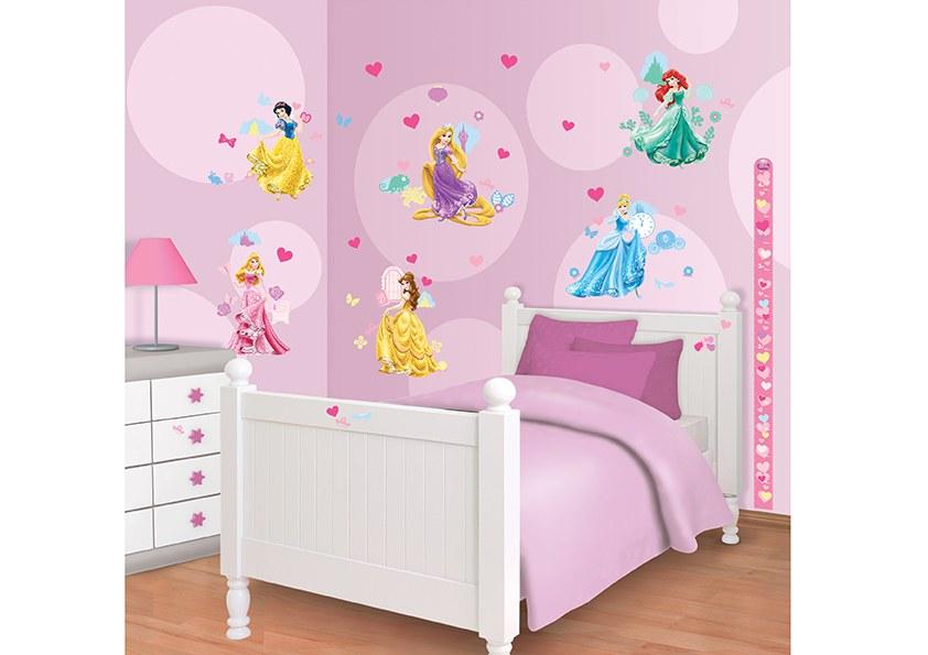 Samolepicí dekorace Walltastic Disney Princezny 41455 - Dekorace Princezny