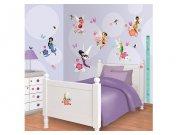 Samolepicí dekorace Walltastic Fairies 41462 Dekorace Fairies Víly