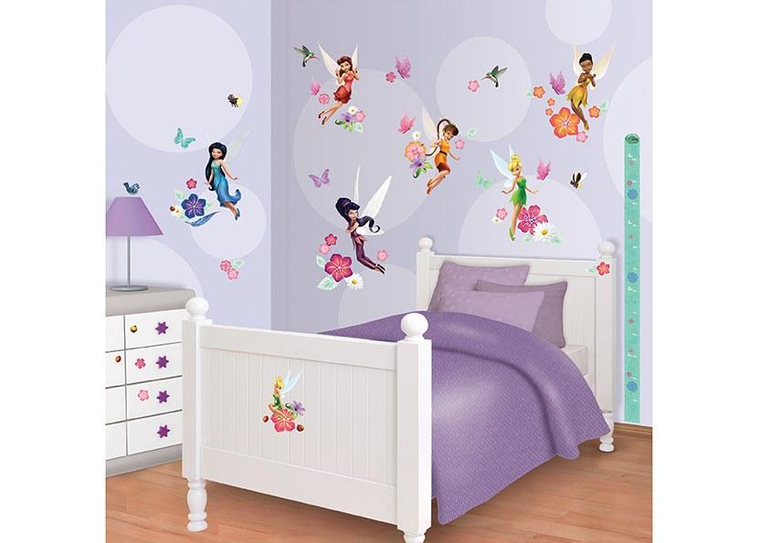 Samolepicí dekorace Walltastic Fairies 41462 - Dekorace Fairies Víly