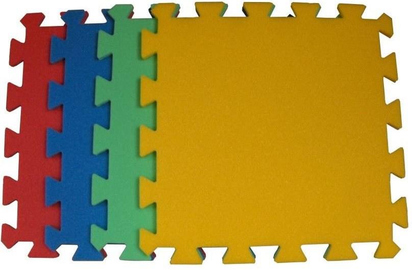 Pěnové puzzle koberec jeden dílek 8 mm, rozměry 31,8 x 31,8 cm - Dětské koberce