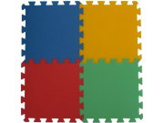 Podlahové pěnové puzzle koberec 4 malé dílky 16 mm, rozměry 61 x 61 cm Dětské koberce