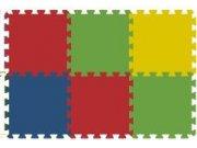 Podlahové pěnové puzzle koberec 6 malých dílků 8 mm, rozměry 61 x 91 cm Dětské koberce