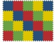 Podlahové pěnové puzzle koberec 20 malých dílků 8 mm, rozměry 121 x 151 cm Dětské koberce