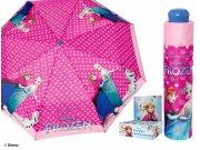 Dětský skládací deštník Ledové Království, 100 cm Deštníky pro děti