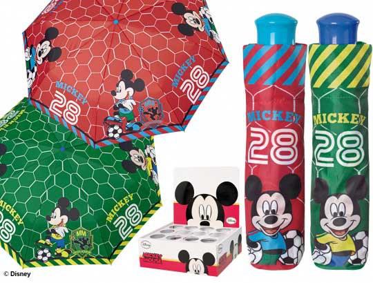 Dětský skládací deštník Mickey Mouse, velikost 108 cm - Deštníky pro děti