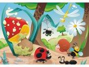 Fototapeta Lesní život FTNXXL-0407, rozměry 360 x 270 cm Fototapety pro děti - Fototapety dětské vliesové