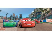 Fototapeta vliesová Cars race Rebelka FTDNH-5339, 202 x 90 cm Fototapety pro děti - Fototapety dětské vliesové