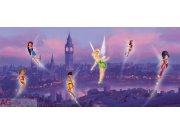 Fototapeta vliesová Fairies in London FTDNH-5306, 202 x 90 cm Fototapety pro děti - Fototapety dětské vliesové