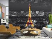 Fototapeta Noční Paříž FTS-1316, rozměry 360 x 254 cm Fototapety papírové