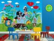 Fototapeta Krteček a kalhotky FTNXXL-2422, rozměry 360 x 270 cm Fototapety pro děti - Fototapety dětské vliesové