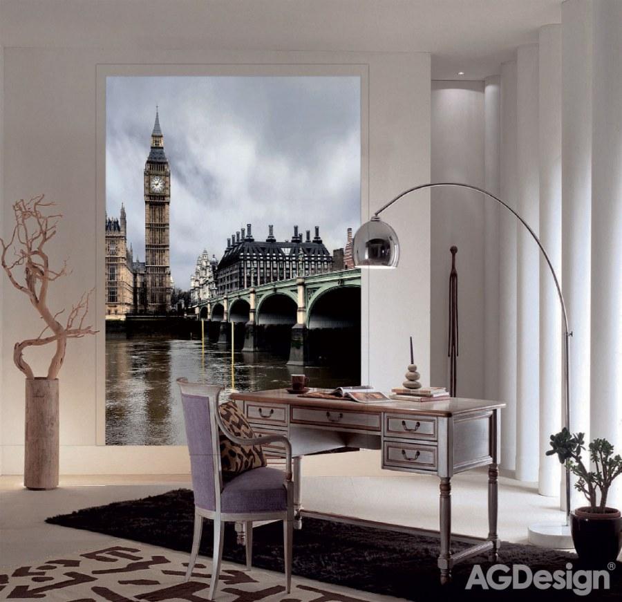 Fototapeta London FTNXL-2512, rozměry 180 x 202 cm - Fototapety vliesové
