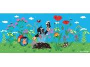 Fototapeta Krtek a kalhotky FTNH-2733, rozměry 202 x 90 cm Fototapety pro děti - Fototapety dětské vliesové