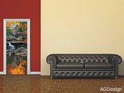 Fototapeta Autumn mill FTNV-2872, rozměry 90 x 202 cm Fototapety vliesové