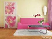 Fototapeta Růžová Orchidej FTNV-2826, rozměry 90 x 202 cm Fototapety vliesové