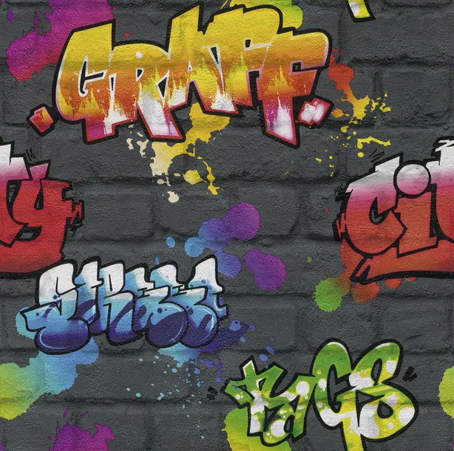 Tapety na zeď Kids & Teens grafitty 237801 - Tapety Kids and Teens