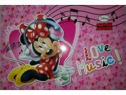 Prostírání Minnie Music LP2027, rozměry 42 x 30 cm Dekorace Mickey Mouse