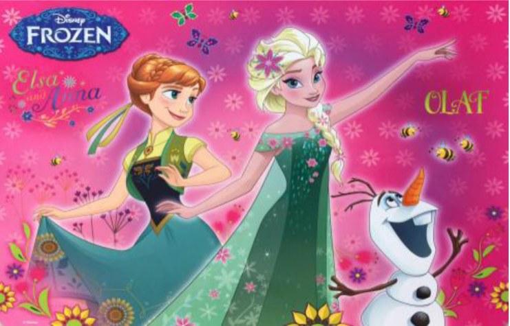 Prostírání Frozen LP2029, rozměry 42 x 30 cm - Dekorace Ledové Království