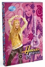 Školní heftbox A5 Hannah Montana 09 - Boxy na sešity