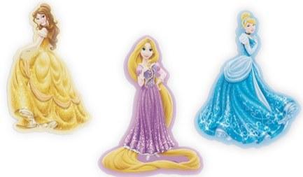 Pěnové figurky Princezny D23612, 3 ks - Dekorace Princezny